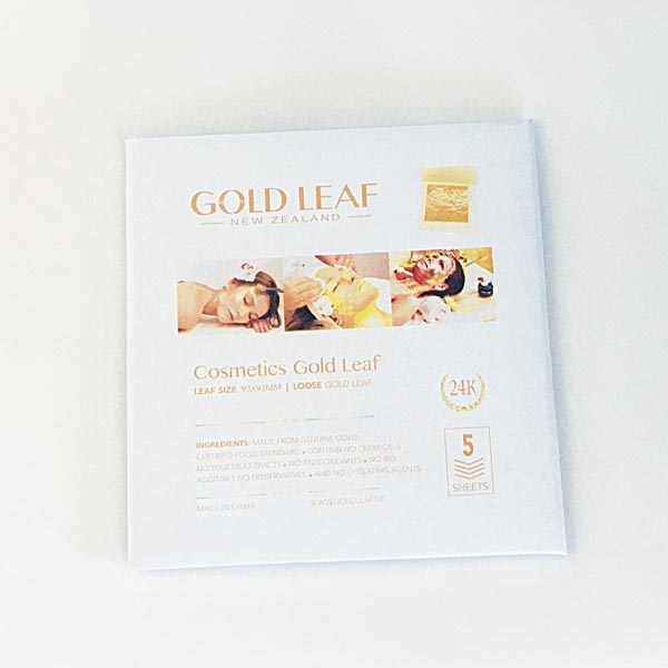 Cosmetics Gold Leaf 24K For Face and Skin Buy at Gold Leaf NZ
