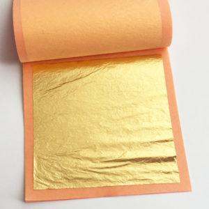 24k gold leaf booklet