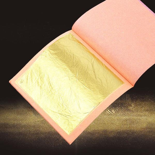 gold leaf booklet of 25