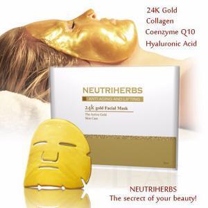 24k gold mask spa