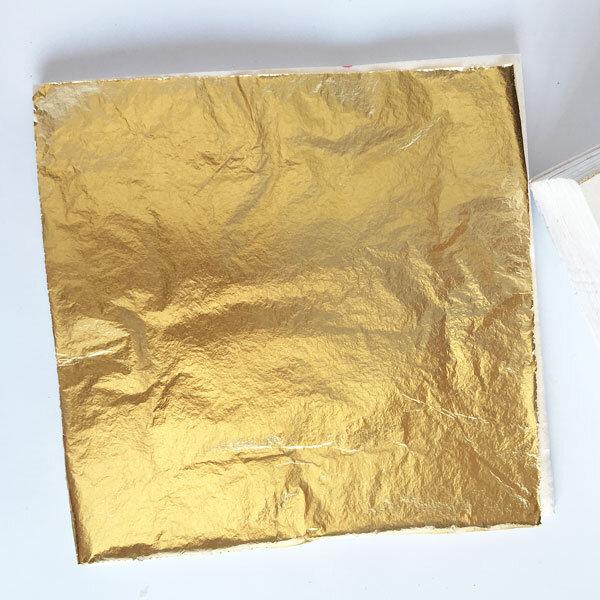 imitation gold leaf with lining paper gold leaf nz. Black Bedroom Furniture Sets. Home Design Ideas