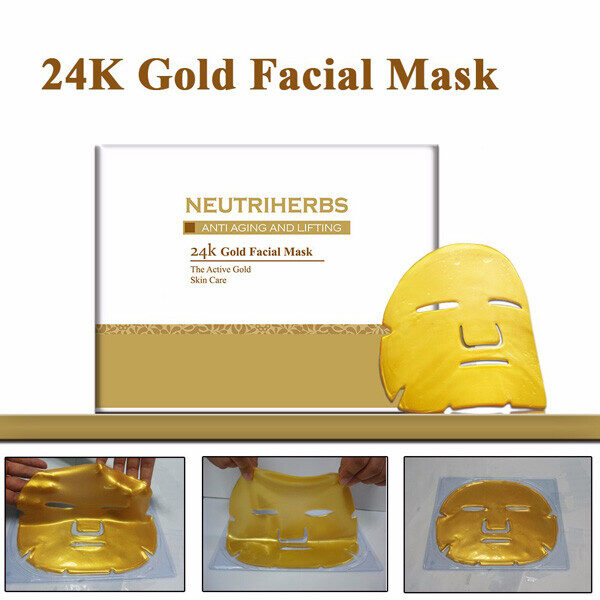 anti wrinckle 24k gold mask