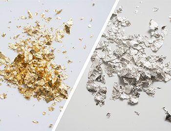 Edible Silver Flakes Size 4, Buy at Gold Leaf NZ