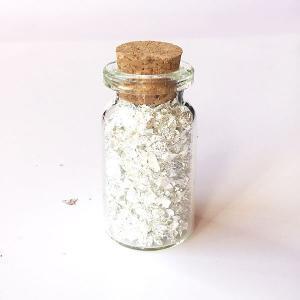 Edible silver crumbs