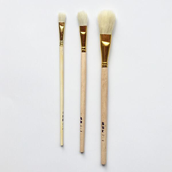 gilder smal brush