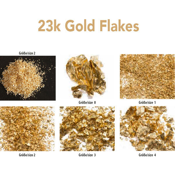 nz edible gold flakes