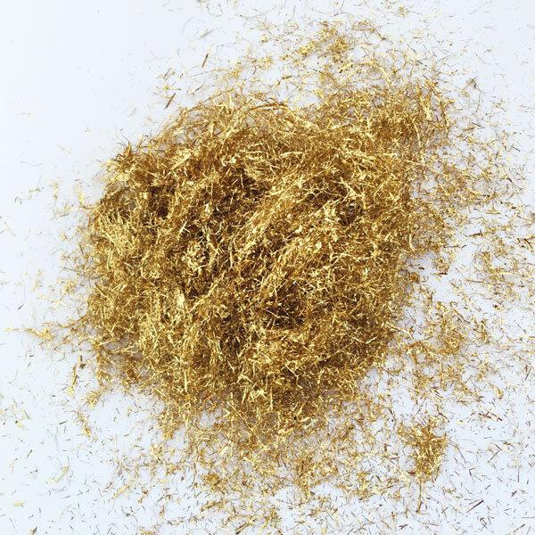 Gold Flakes Silk