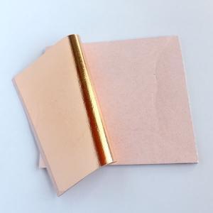 rose gold foil
