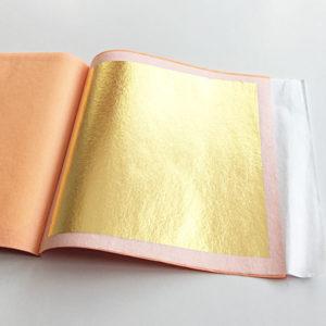 transfer gold leaf booklet nz