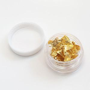 cosmetics gold flaks