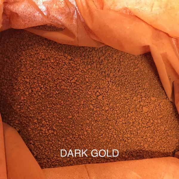 Dark Gold Oxide Pigment For Concrete Coloring Buy At Gold Leaf NZ