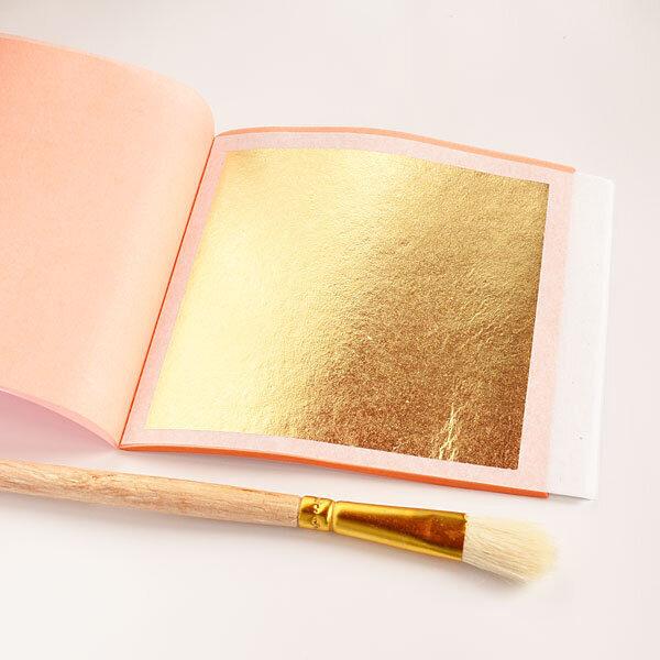 23c gold leaf booklet