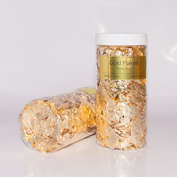 gold flakes size 0