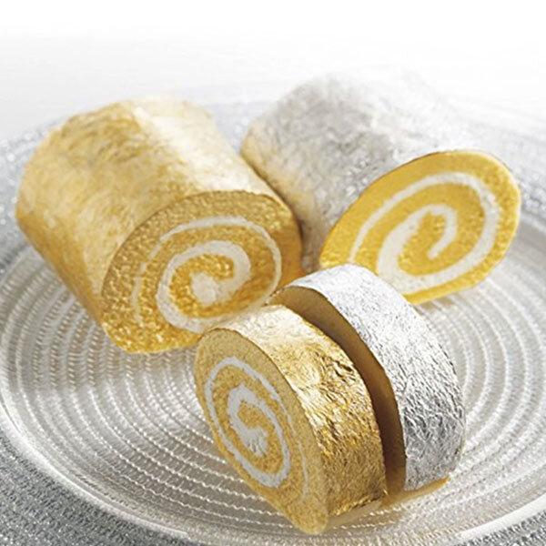 edible gold 24k ON CAKE