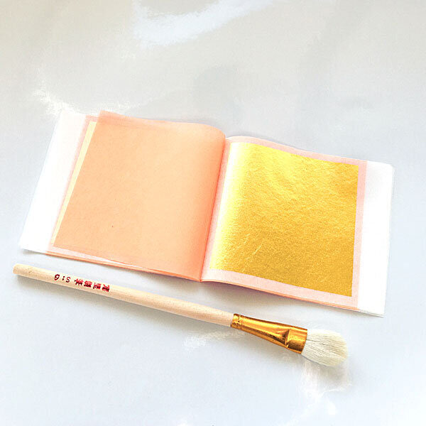 24k Edible gold leaf booklet-transfer buy at Gold Leaf NZ