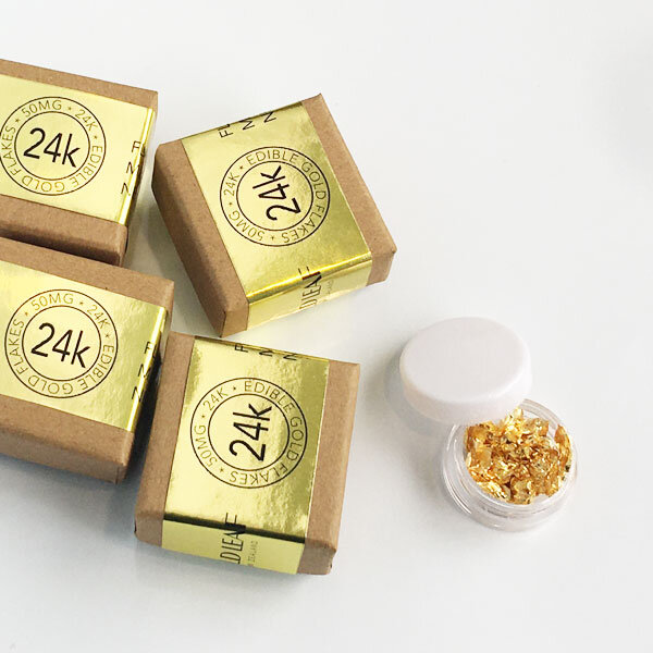 Gold Flakes Edible Flakes, 24k Gold Flakes buy at Gold Leaf NZ