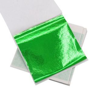 Green foil for DIY buy now at Gold Leaf NZ