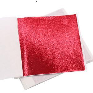 Red Leaf for DIY project buy at Gold Leaf NZ