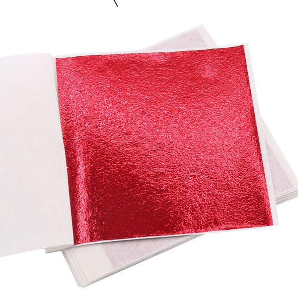 Red Leaf for DIY project buy at Gold Leaf NZ