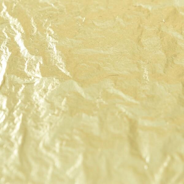 18k Gold Leaf, Bright Lemon Gold Buy at Gold Leaf NZ