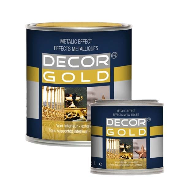 Gold Paint Decor Gold For Wood, Meta and Stone Buy at Gold Leaf NZ