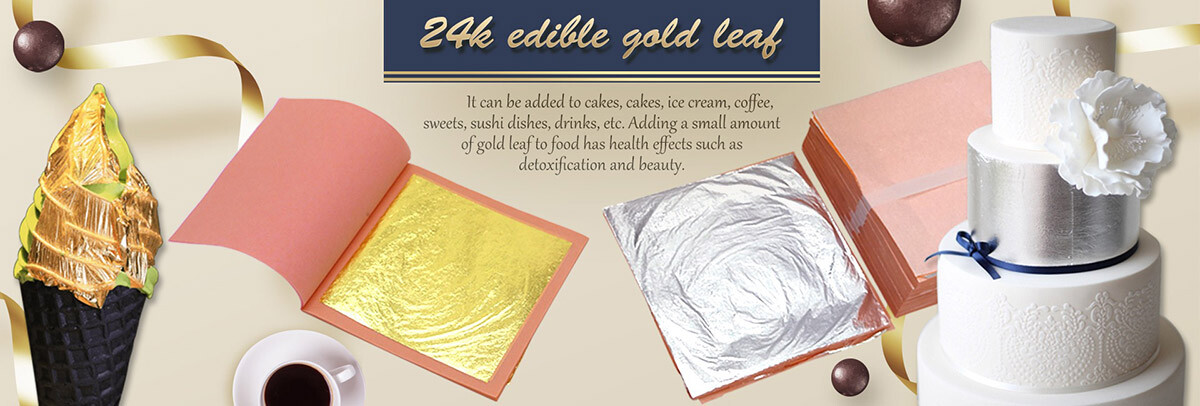 Edible Silver Leaf For Wedding Cake buy at Gold Leaf NZ
