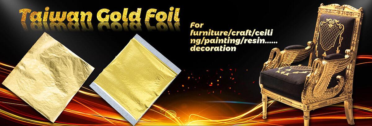 Taiwan Gold Leaf for Gilding Furniture at Gold Leaf NZ