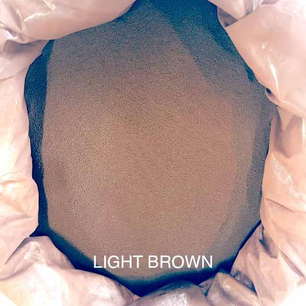 Light Brown Dioxide Powder Buy at Gold Leaf NZ